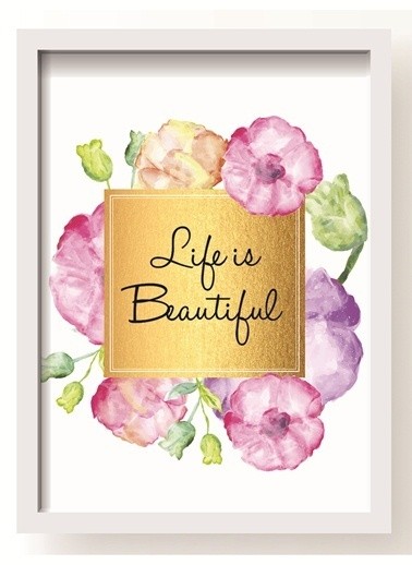 Life Is Beautiful Poster-All About Wall